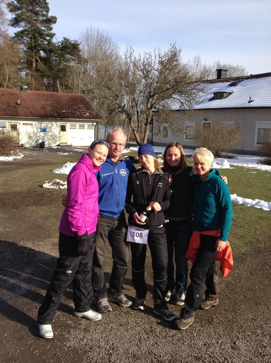 Mitt underbara fantastiska team!! Maria, Janne, jag, Kristina och Emelie. Jag bara älskar er!!!