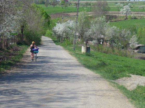 Det har varit två härliga dagar då vi tagit oss på små slingriga vägar i ett böljande landskap.