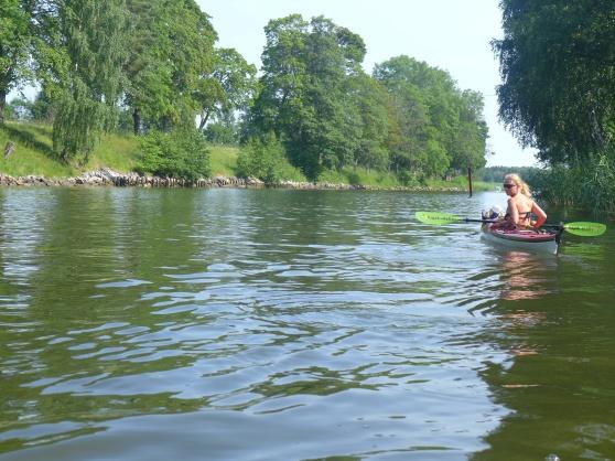 Glassig paddling i bikini hela dagen idag.