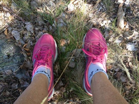 De här fötterna var riktigt trötta under långpasset. Lite piggare idag :).