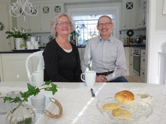 Fantastiska Mats och Raina Karlsson. Raina bloggar om trädgård och inredning, kolla in hennes blogg.
