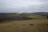 Grindavik på sydvästra Island där landets första fyr byggdes.