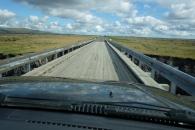 Dom flesta broar vi passerade på de mindre vägarna var helt oväntat gjorda av trä!